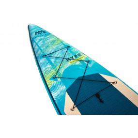 Aqua Marina Hyper 12'6 - dwukomorowa deska touringowa do pływania - szybka, bezpieczna i ładna