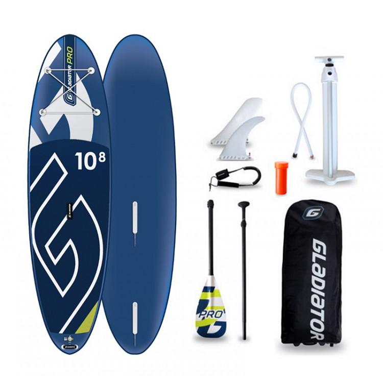 WindSUP Gladiator Pro 10'8 - paddleboard i deska windsurfingowa w jednym