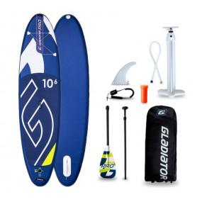 Gladiator Pro 10'6' - wysokiej jakości pompowana deska do pływania