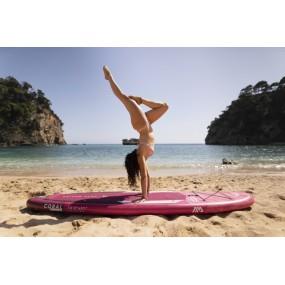 SUP deska dla kobiet Aqua Marina Coral do pływania na stojąco z wiosłem